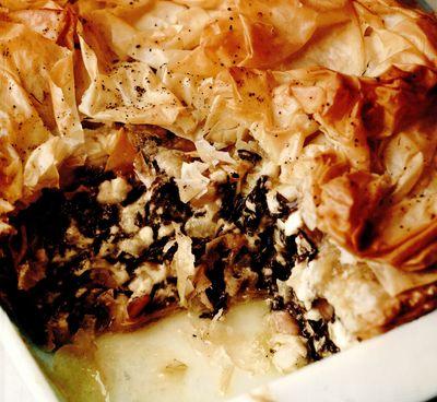 Retete culinare: Spanakopita