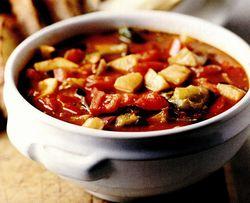 Supă mediteraneeană cu legume călite