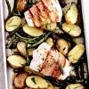 Cod_înfasurat_în_pancetta_si_cartofi_aromati_cu_lamâie