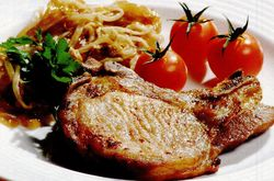 Cotlete de porc cu germeni de soia