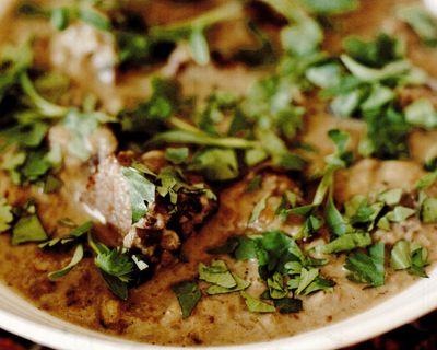 Curry verde aromat cu carne de vită