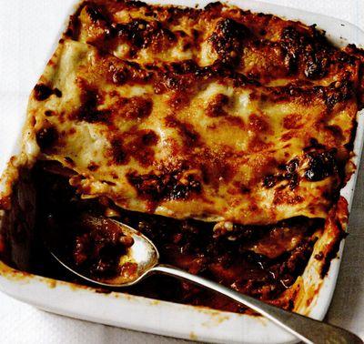 Lasagna simplă