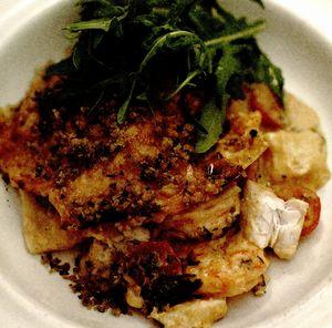 Lasagne cu peşte