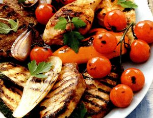 Mixed grill cu dovlecel