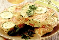 Omleta cu zucchini