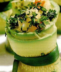 Rulouri din dovlecei cu legume