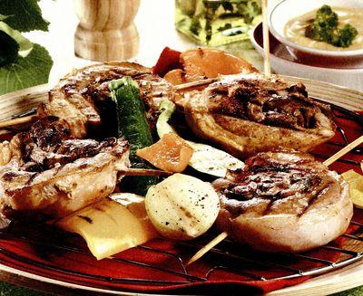 Rulouri din fleica de porc