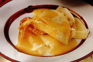 Sos de portocale cu Grand Marnier
