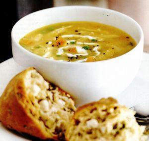 Supă cu pui fript