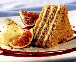 Prăjitură cu foi şi miere