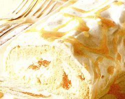Rulada cu crema de iaurt