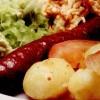 Salata_calda_cu_cartofi_si_cârnati