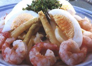 Salata cu crabi si telina