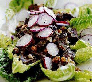 Salată cu vită în stil japonez