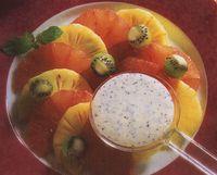 Salata de fructe cu sos