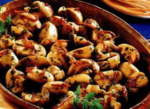 Specialitate de ciuperci cu ardei