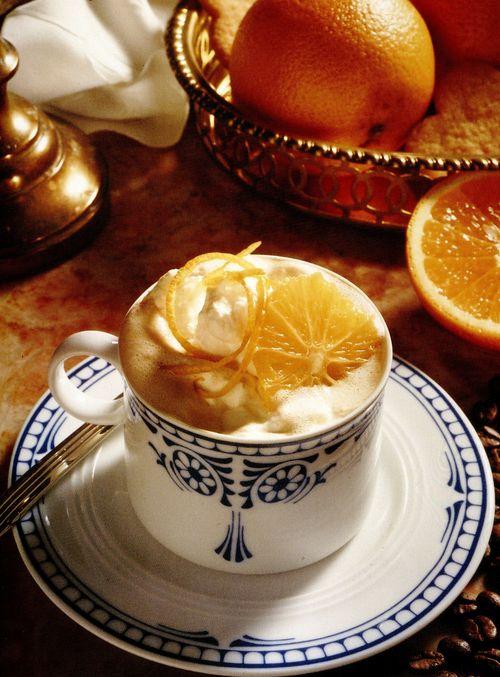 Cafea cu portocale