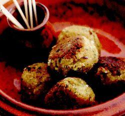 Frigărui din falafel de cartofi