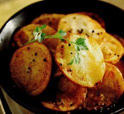 Rondele de cartofi copti