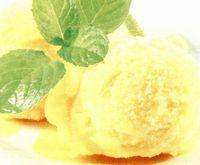 Sorbeto de lămâie şi mentă