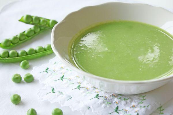 Supă uşoară de mazăre
