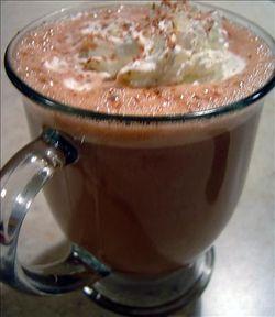 Ciocolata calda cu rom