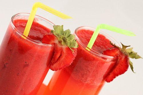 Cocktail de capsuni