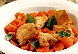 Mâncare de morcovi