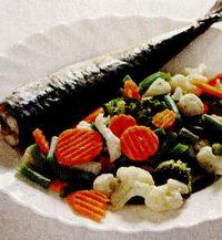 Retete culinare: Macrou cu legume
