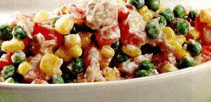 Salata cu ton colorata