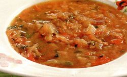 Supa italiana cu fasole si varza