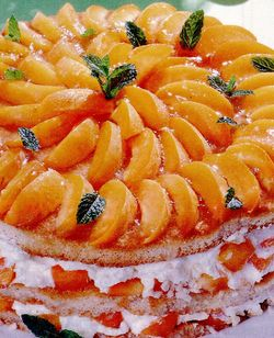 Tort de casata cu fructe