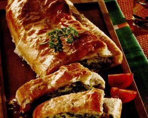 Aperitiv cu brânză şi spanac