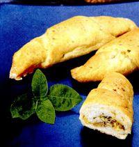 Croissant cu porumb şi caşcaval