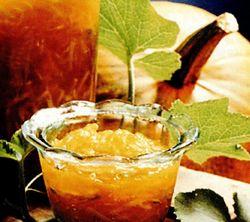 Dulceata de dovleac si portocale