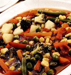 Retete de post: Ghiveci de legume
