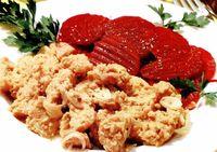 Mâncare de soia cu sfeclă roşie