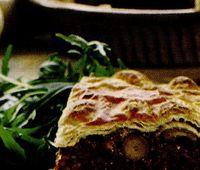 Retete savuroase: Placinta cu ciuperci