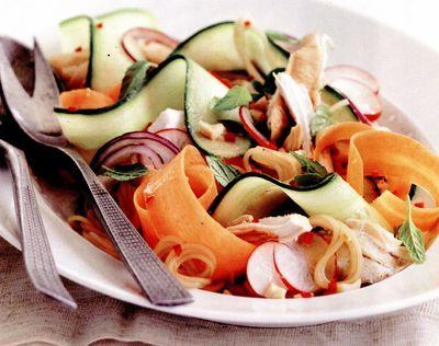 Salată vietnameză cu pui