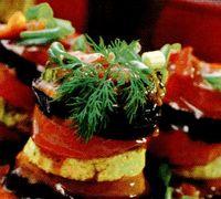 Turnulete cu legume coapte