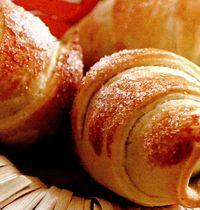 Croissante cu branza brie si spanac