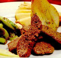 Cotlet de vitel cu pere si tarhon
