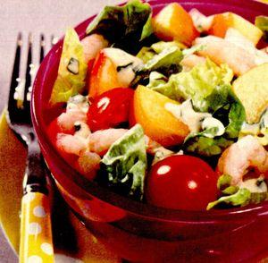 Salata mixta cu verdeata