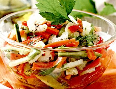 Reteta salata de morcovi si telina