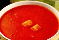 Supa rece de rosii cu orez