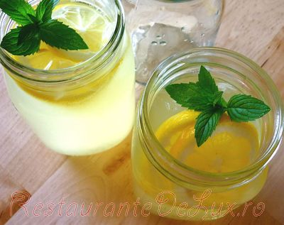 Limonada racoritoare cu menta