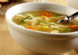 Supa de gaina cu usturoi