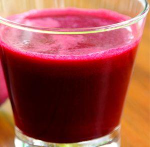 Suc de sfecla rosie, morcov si mar