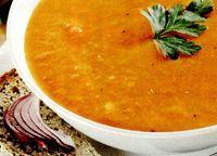 Supa crema de linte cu usturoi