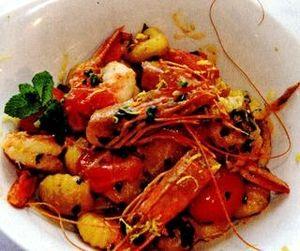 Retete_delicioase_Creveti_cu_gnocchi